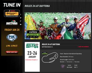 2014 Daytona Rolex 24