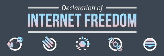 The Declaration of Internet Freedom
