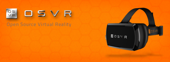 OSVR head mounted display