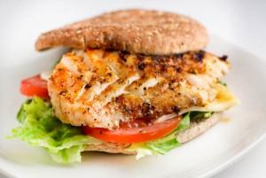 Grilled Swordfish Sandwich