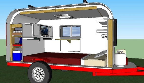 Vetsport microcamper home